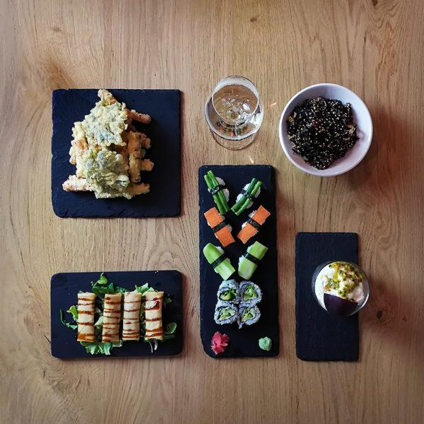 Myo menù degustazione vegetariano